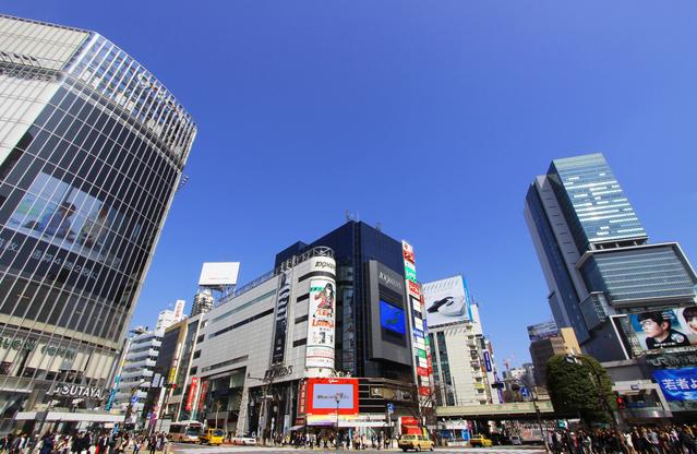 スクランブル交差点(渋谷駅前交差点) image