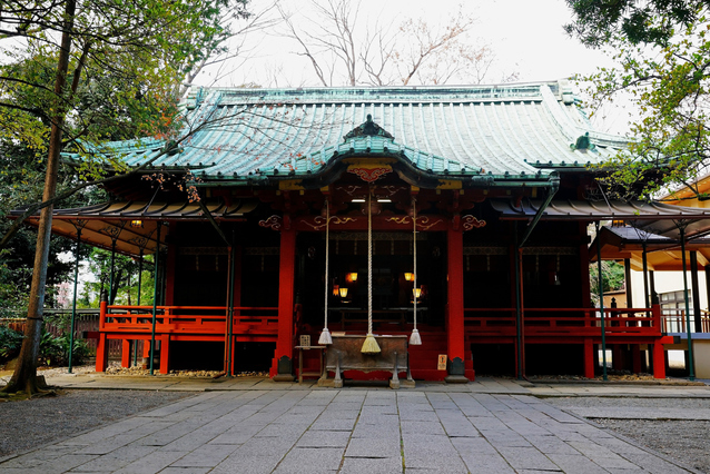 赤坂氷川神社 image