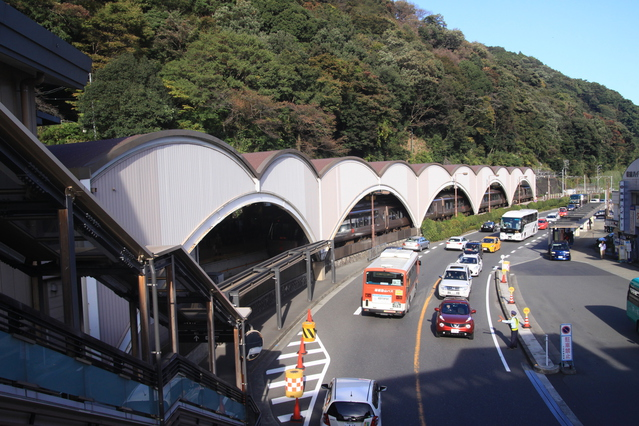箱根湯本駅前 image