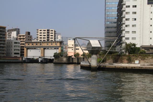霊岸島水位観測所 image