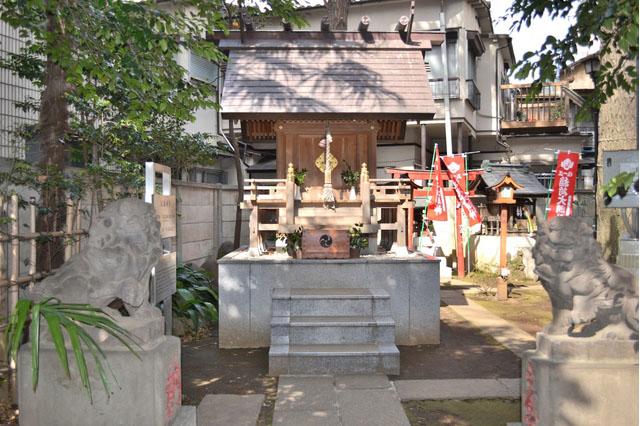 高円寺氷川神社(気象神社) image