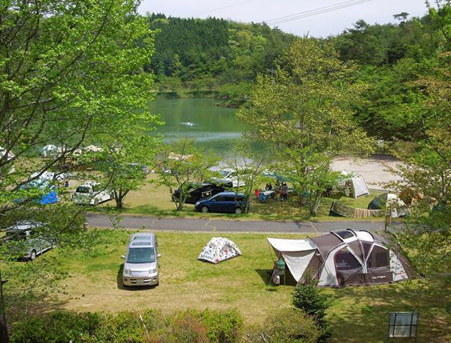 羽高湖森林公園キャンプ場 image