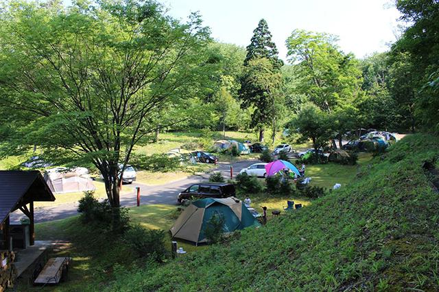 鮭川村エコパーク栗の木オートキャンプ場 image