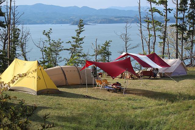神割崎キャンプ場 image