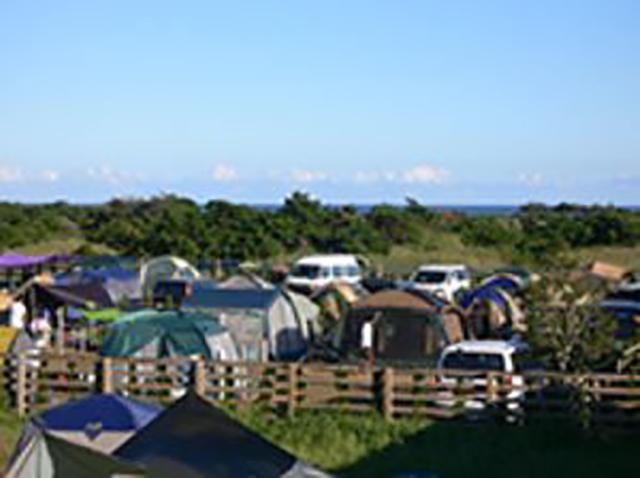 九十九里オートキャンプ場 太陽と海 image