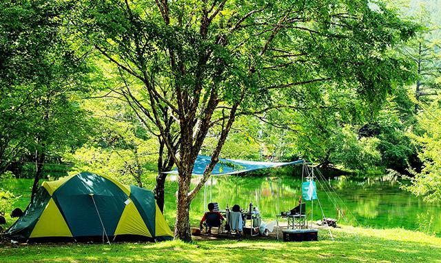 駒出池キャンプ場 image