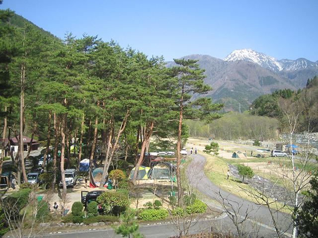 奥飛騨温泉郷オートキャンプ場 image