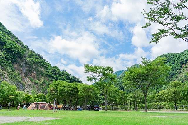 青川峡キャンピングパーク image