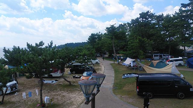 キノサニービーチ高木浜オートキャンプ場 image