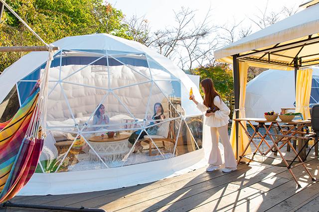 GRAX PREMIUM CAMP RESORT(グラックス プレミアム キャンプ リゾート) 京都 るり渓 image