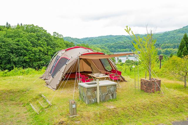 緑水湖オートキャンプ場 image