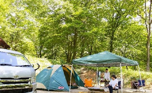 休暇村帝釈峡くぬぎの森オートキャンプ場 image