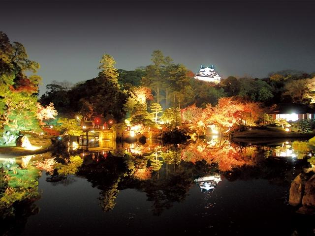 彦根城・名勝 玄宮楽々園