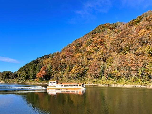 阿賀野川ライン遊覧船