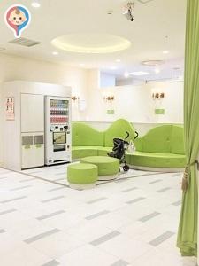 ジェイアール名古屋タカシマヤ(8階 赤ちゃん休憩室)