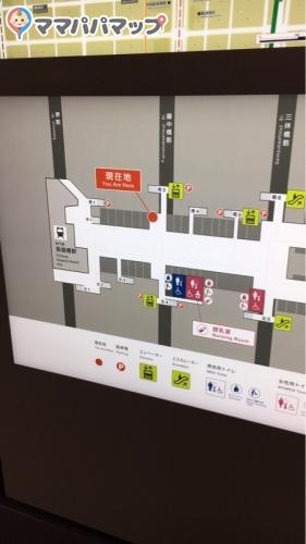 クリスタ長堀(B1階 占い広場 女子トイレ内)