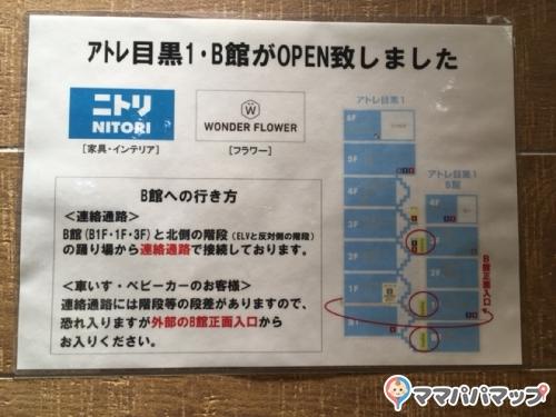 アトレ目黒(6F(屋上))