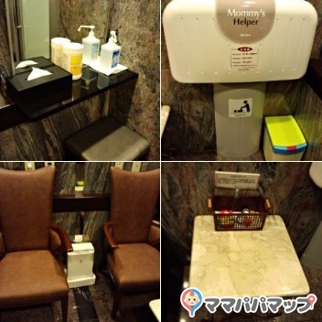 沖縄かりゆしアーバンリゾート・ナハ(8階レストラントイレ入り口)
