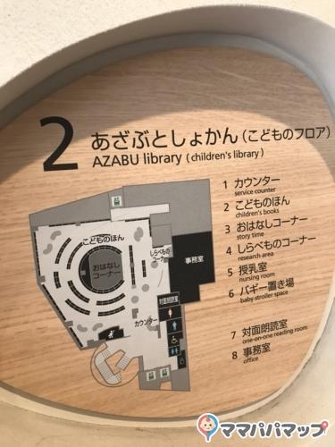 麻布図書館(2F)