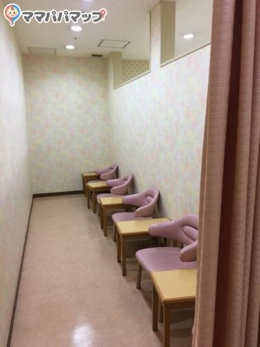 アクアシティお台場(6F 赤ちゃん休憩所)
