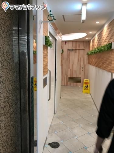 ホワイティ梅田新設トイレ(B1)