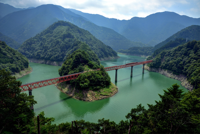 奥大井湖上 image